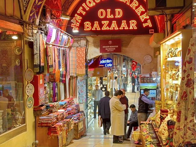 Prime tourist hotspot ... Istanbul's famous Grand Bazaar is one of the country's big tour