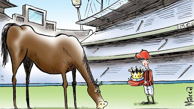 Can you solve Macca's selection for the Doncaster Mile?