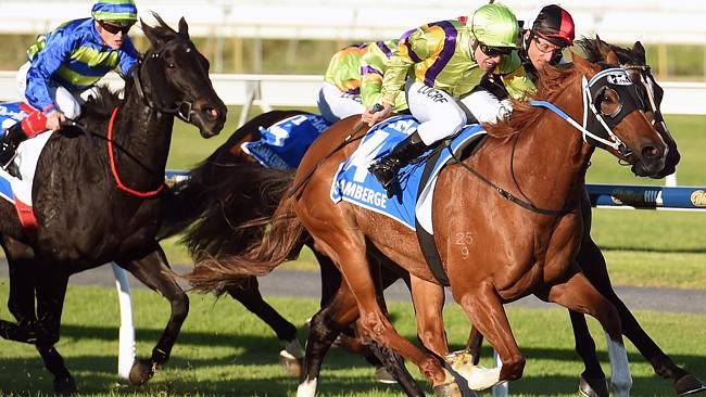 Peter Moody-trained Flamberge shakes off Lord Of The Sky (rails) to claim $500,000 Group