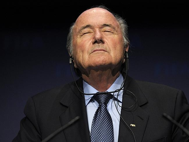 Sepp Blatter resigned today at a hastily arranged press conference.