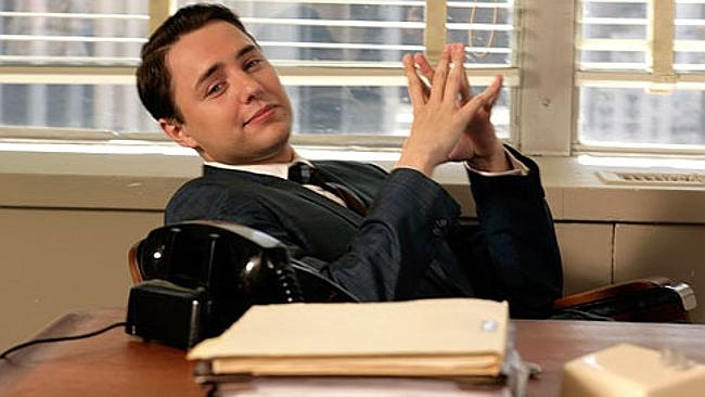Pete Campbell, Mad Men character brags and lies to colleagues to get ahead. Picture: Supp