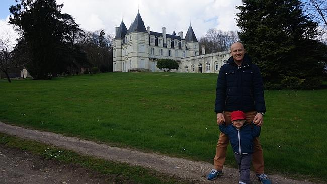 The house-sitting in Chatellerault, France.