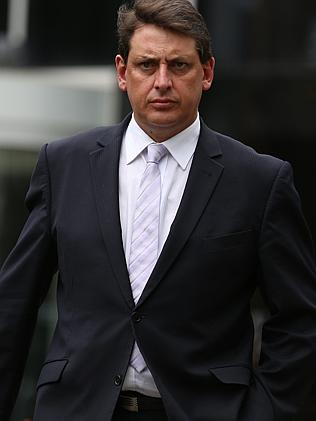 Terry Bailey addresses the media when cobalt scandal first surfaced in January. Picture: