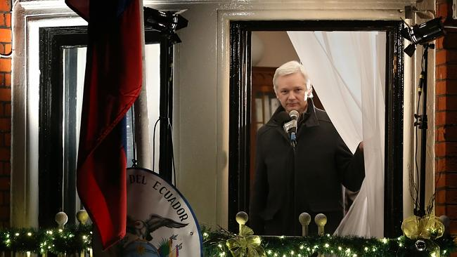 'Normal life' ... Julian Assange has continued to run Wikileaks while in his hide-out.