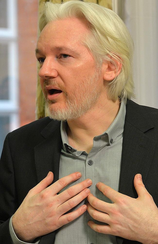 Wanted on warrant ... WikiLeaks founder Julian Assange has not been charged with any offe
