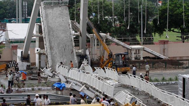 India Bridge Collapse