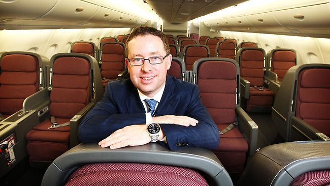 Qantas CEO Alan Joyce says flying is now within reach of more families than ever before. Picture: Craig Greenhill