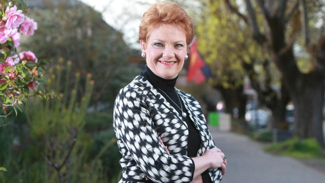 Pauline Hanson's win would be the worst result for the new government. Picture: Calum Robertson