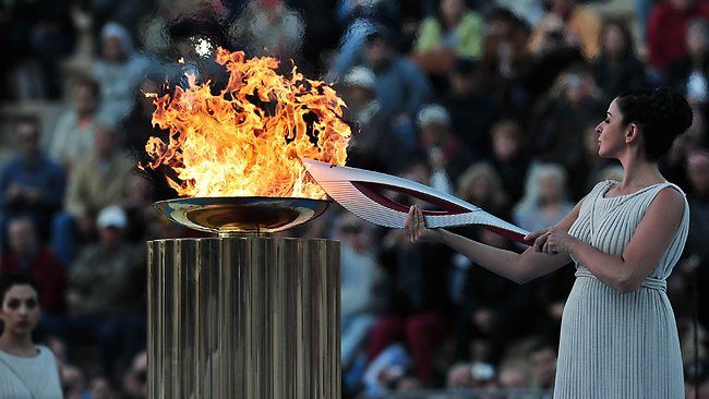 Olympic flame Sochi