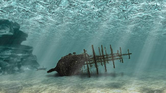 Timbers from a shipwreck found in New Zealand have been dated to some 70 years before Captain Cook 'discovered' ...