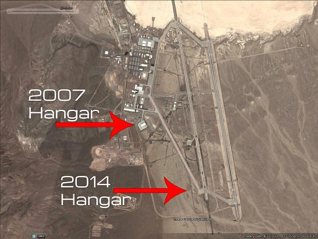 Aliens or aircraft? Area 51's new secret