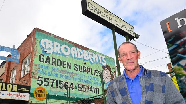 Kevin Broadbent of Broadbent Garden Supplies, recently moved his 70-year-old, three gener