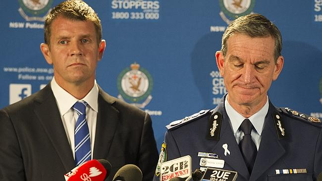 NSW Premier Mike Baird and Police Commissioner Andrew Scipione have confirmed details of