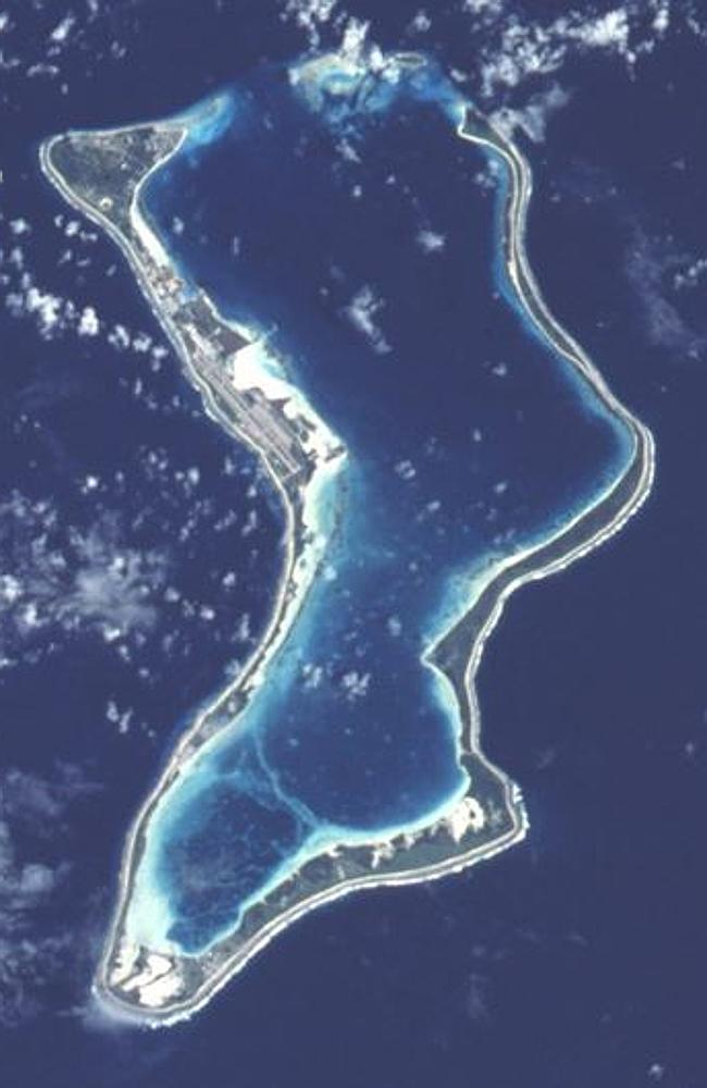Diego Garcia ... the remote wishbone-shaped Indian Ocean island is home to a major US mil