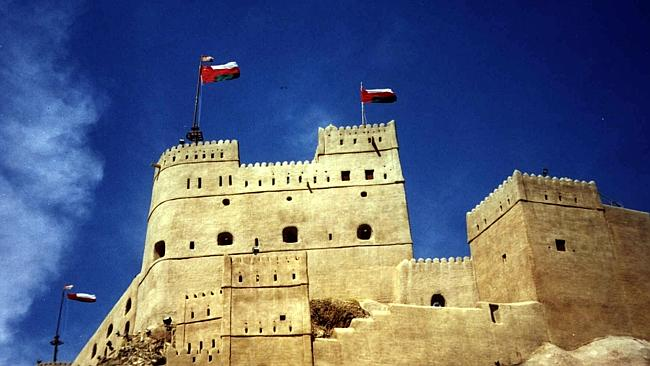 TTT29/03/2000 LIBRARY: A castle in Muscat, Oman - homes & castles travel. Pic. Supplied HOTCOVER
