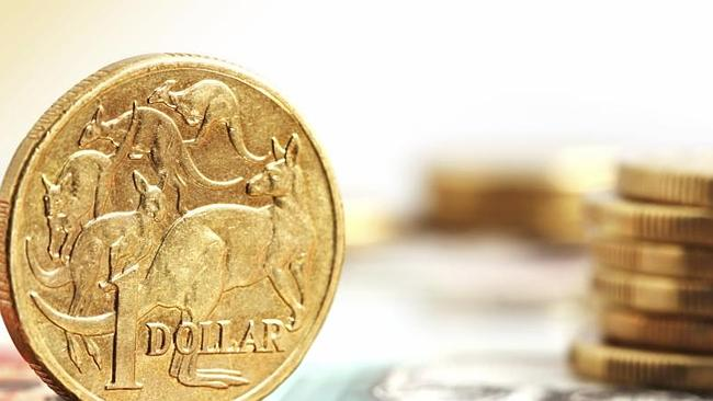 Continuing expectations of an interest rate cut are also pushing the Aussie dollar lower.
