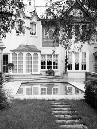 The Woollahra home of Dr Michael Chye.