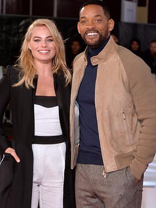 Margot and Will. Picture: Anthony Harvey/Getty Images
