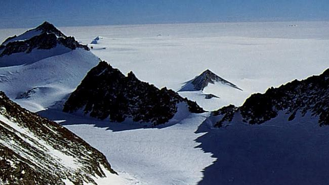 Frozen and fabulous: Mt Vinson Massif