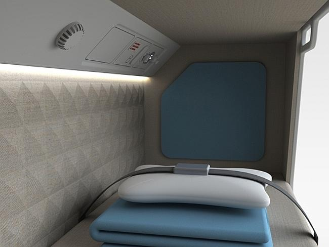 Each cabin will have its own entertainment unit. Picture: Zodiac Aerospace.