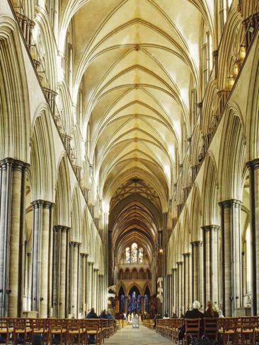 The cathedral's elegant vaulted ceiling. Picture: Getty