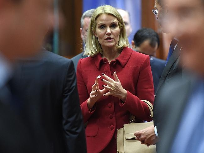 Leader ... Danish Prime Minister Helle Thorning-Schmidt could head the first nation to be