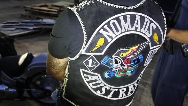 Twelve Nomad bikie gang members have been arrested and charged with a range of offences,
