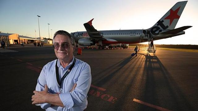Ballina Byron Gateway Airport manager Neil Weatherson welcomes the change in CASA rules: