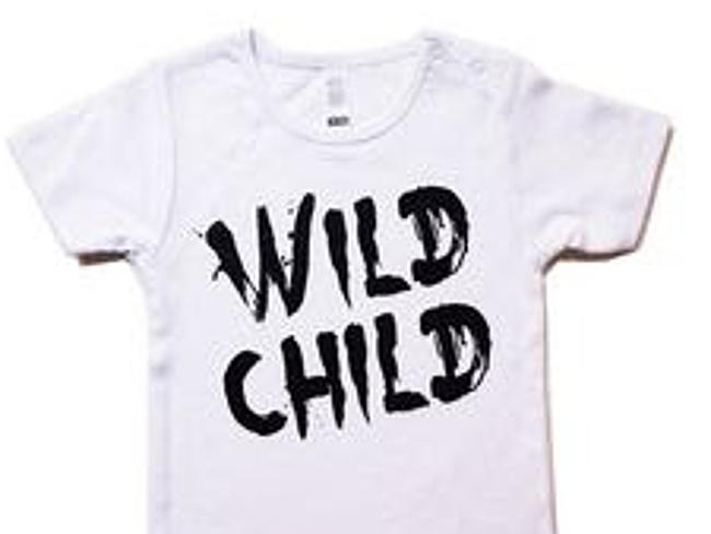 KaPow Kids designer Andrea Goulding launched her Wild Child T-shirt in early summer 2014-