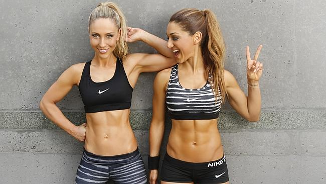Fitness gurus Felicia Oreb and Diana Johnson, aka the Base Body Babes, say their Instagra