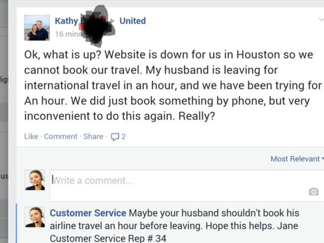 The calm before the porn ... Kathy's initial complaint.