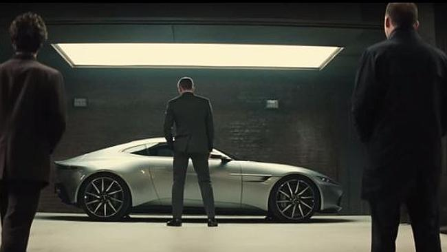 New car ... expect high-octane chases in Spectre.