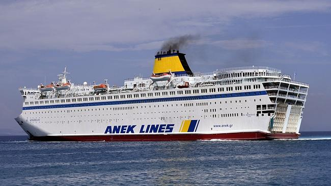 The 2500 capacity cruise ship has been commissioned by the government to process migrants
