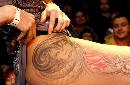 Tattoo. Source: Reuters