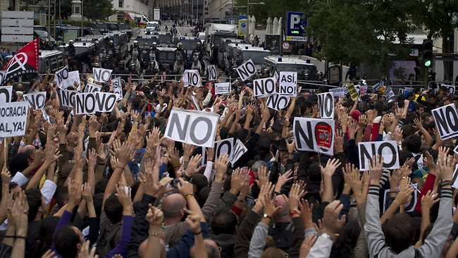 spain protests