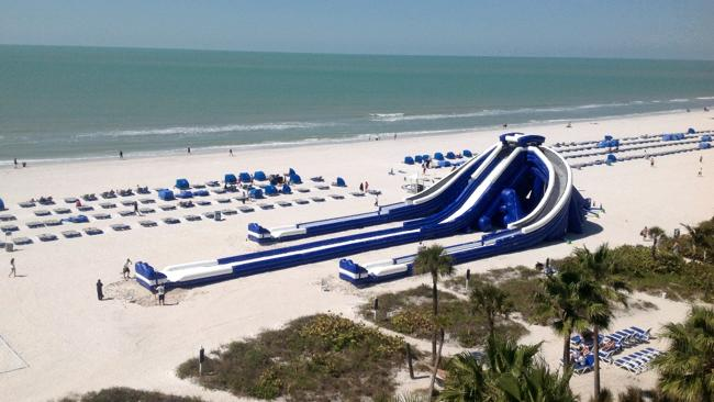 The huge Trippo Slide. Picture: Supplied