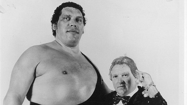 Andre the Giant died in 1993. Photo: Supplied