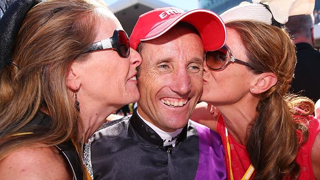 Lucky man ... The part-owners of Fiorente. Picture: Getty Images