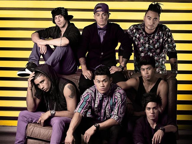 Justice Crew. Picture: Sony Music