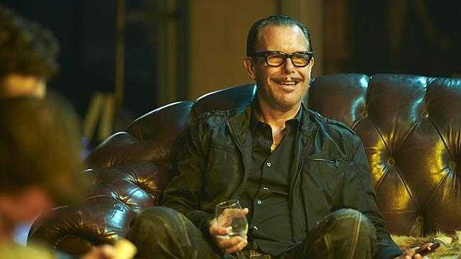 Kirk Pengilly on the set. Supplied by: Channel 7