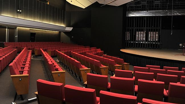 The Bryan Brown Theatre can seat 300.