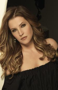 Touring for her fans ... singer and daughter of the late Elvis Presley, Lisa Marie Presley.