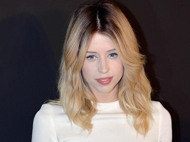 Tragic death ... A February 25 photo of late TV host and model Peaches Geldof at a Paris