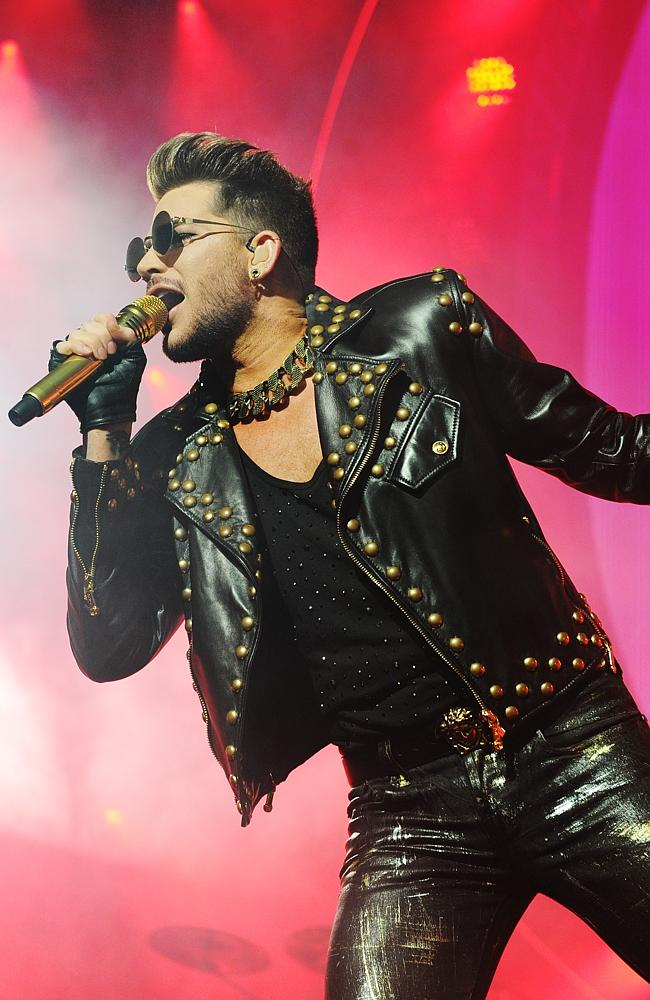 Adam Lambert. Photo: Jackson Flindell.