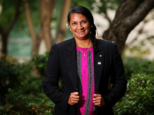 Senator Nova Peris, who will be deputy chair to Ken Wyatt for the Coalition's committee looking at the referendum to recognis...