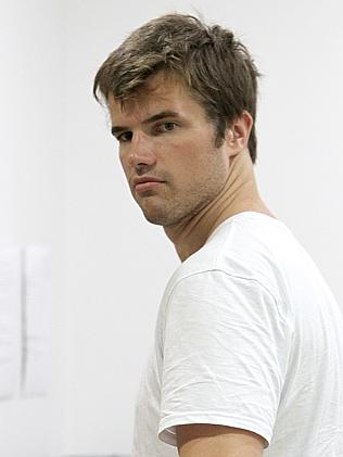 Gabe Tostee pictured entering a Surfers Paradise Medical Centre. Picture Mike Batterham