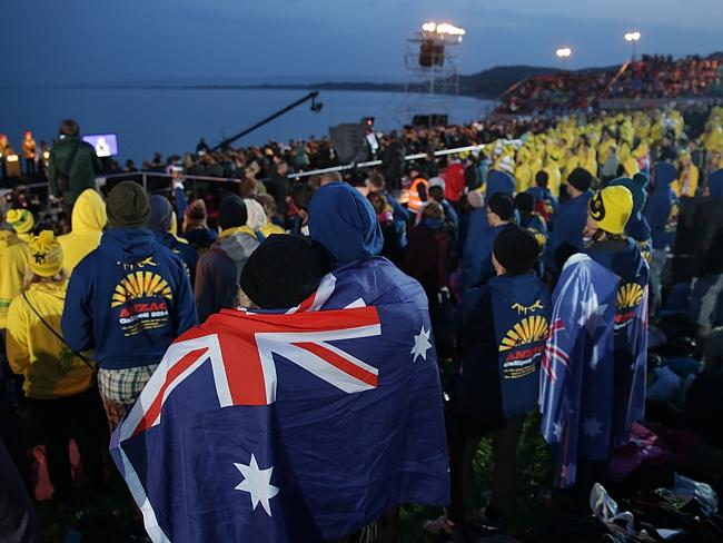 The dawn service at Gallipoli ... Turkey looks to the battle in an entirely different lig