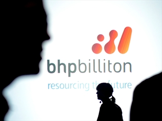 BHP Billiton's half year results in Melbourne