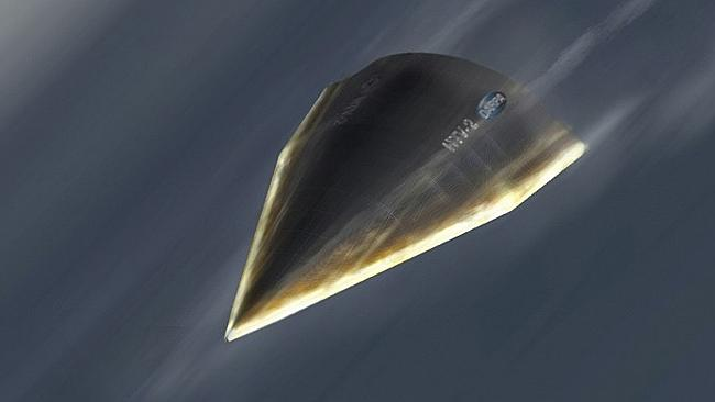 This artist's rendering, provided by the Defense Advanced Research Projects Agency (DARPA