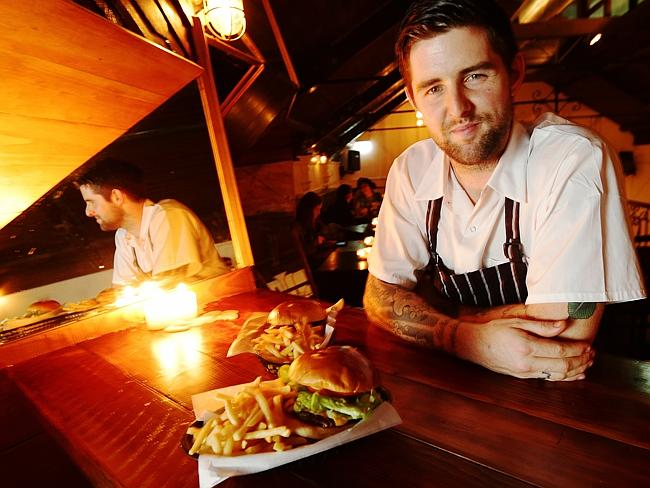 LP's chef Luke Powell at Mary's in Newtown. Picture: Justin Lloyd
